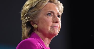 Nov 3, 2016; Raleigh, NC, USA; Democratic presidential candidate Hillary Clinton