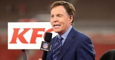 Football announcer Bob Costas talks