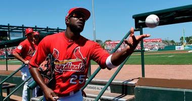 St. Louis Cardinals outfielder Dexter Fowler.