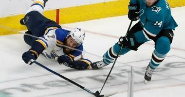 St. Louis Blues and San Jose Sharks