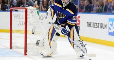 St. Louis Blues goalie