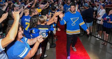 St. Louis Blues forward Pat Maroon.