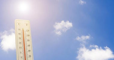 Thermometer on the summer heat - Maximum temperature