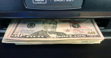 Getting US dollars at an Automated Teller Machine