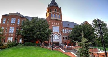 The campus of Saint Louis University in St. Louis, Missouri.