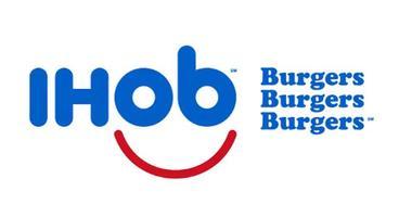 new ihop, ihob logo