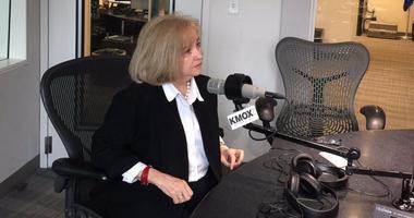 St. Louis Mayor Lyda Krewson in the KMOX studio.