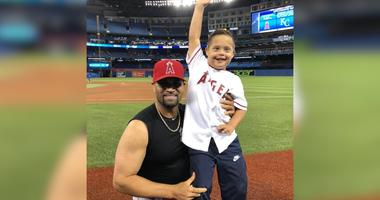 WATCH: Albert Pujols surprised this fan by giving him the jersey off his back