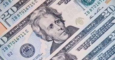 Andrew Jackson $20 dollar bill