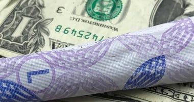 tampon, money