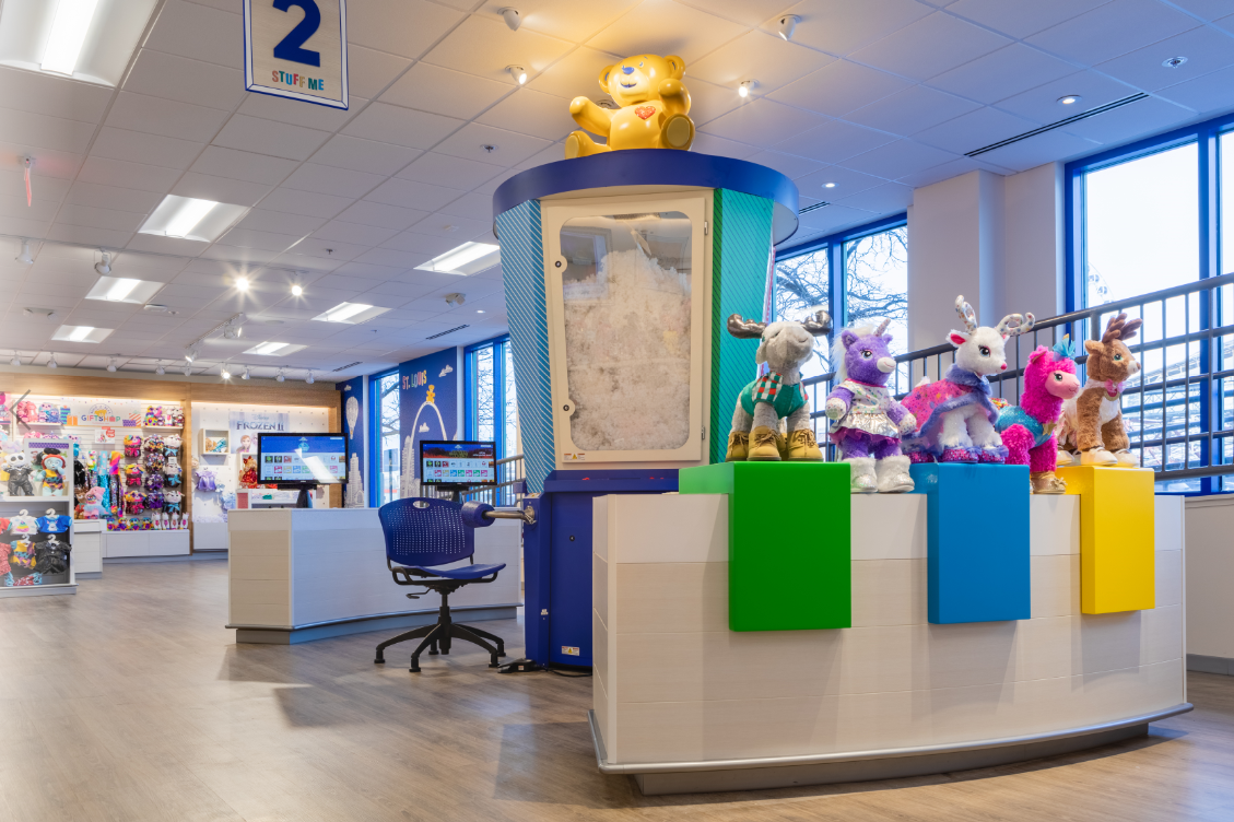 New Build-A-Bear workshop opens near Union Station in St. Louis this