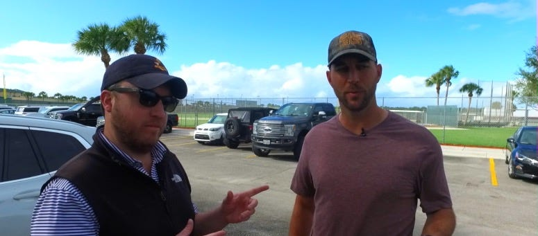 WATCH: The thing Adam Wainwright loves most about baseball is the competition