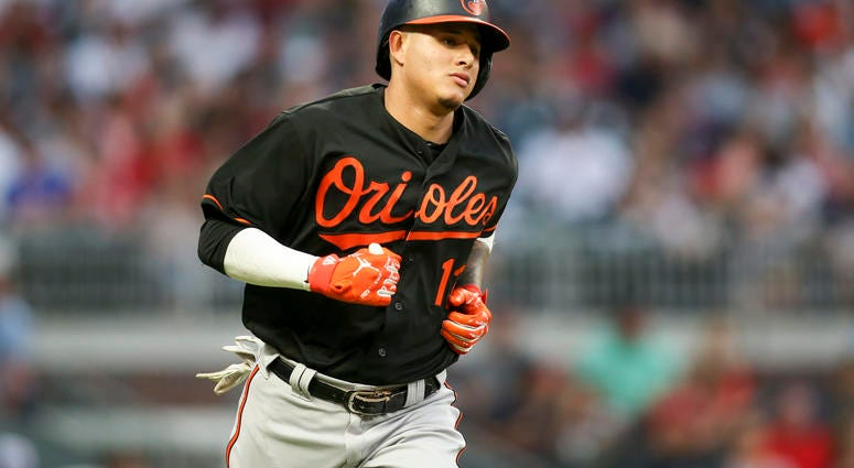 MLB: Baltimore Orioles at Atlanta Braves