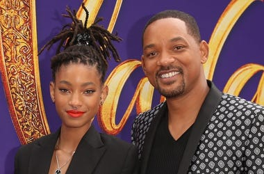"Trey Smith, Jada Pinkett Smith, Willow Smith and Will Smith attend the World Premiere of Disney's ""Aladdin"" at the El Capitan Theater in Hollywood CA on May 21, 2019, in the culmination of the film's Magic Carpet World Tour with stops in Paris, London, Be"