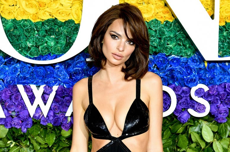 Emily Ratajkowski attends the 73rd Annual Tony Awards at Radio City Music Hall on June 09, 2019 in New York City.