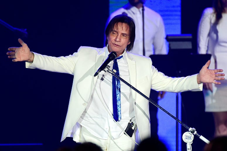 Honoree Roberto Carlos performs onstage during the 2015 Latin GRAMMY Person of the Year honoring Roberto Carlos at the Mandalay Bay Events Center on November 18, 2015 in Las Vegas, Nevada.