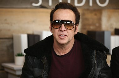 Actor Nicolas Cage attends The IMDb Studio and The IMDb Show on Location at The Sundance Film Festival on January 19, 2018 in Park City, Utah.