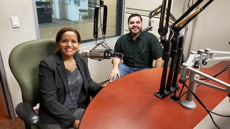 dos reconocidos consejeros del Metroplex, ellos son Esther Scott de Positive Actions International y Jorge Gama de Mending Clinic