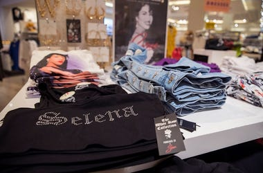"""Forever 21 debuted \""""The White Rose\"""" collection Thursday, March 21, 2019. The line is dedicated to the late Tejano singer, Selena Quintanilla-Perez. The collection is limited edition and will not be ..."""