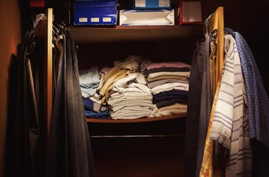 limpiando closet