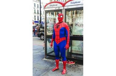 SpiderMan Bailador En Mexico
