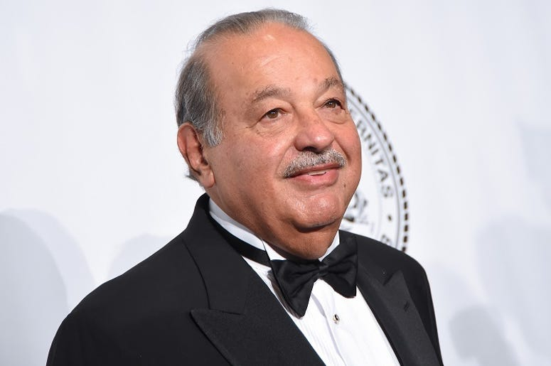 Honoree Carlos Slim attends the Friars Foundation Gala honoring Robert De Niro and Carlos Slim at The Waldorf Astoria Hotel in New York, NY, on October 7, 2014.