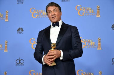 Sylvester Stallone in the Press Room at The 73rd Annual Golden Globe Awards - Press room held at the Beverly Hilton in Los Angeles, CA on January 10, 2016. (Photo by Sthanlee B. Mirador) *** Please Use Credit from Credit Field ***