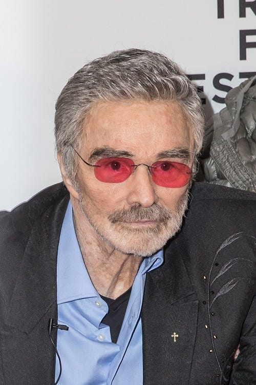 Burt Reynolds attends the 2017 Tribeca Film Festival 'Dog Years' at Cinepolis Chelsea on April 22, 2017 in New York City. (Photo by Joe Russo/imageSPACE). *** Please Use Credit from Credit Field ***