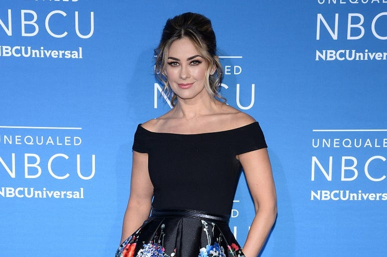 Aracely Arambula attends the 2017 NBCUniversal Upfront at Radio City Music Hall in New York, NY, on May 15, 2017. (Photo by Anthony Behar) *** Please Use Credit from Credit Field ***