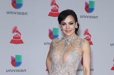 16 November 2017 - Las Vegas, NV - Maribel Guardia. 2017 Latin Grammy arrivals at MGM Grand Garden Arena.