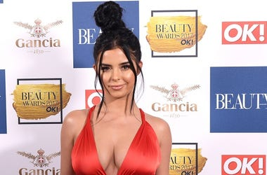 Demi Rose attending the Beauty Awards 2017 with OK! held at the Pavilion in the Tower of London. Photo credit should read: Doug Peters/EMPICS Entertainment