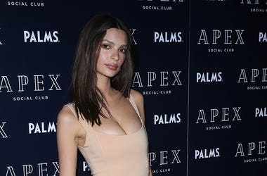 Las Vegas, NV - Emily Ratajkowski. Grand Opening celebration of Apex Social Club at Palms Casino Resort.