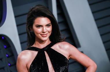 Kendall Jenner walking on the red carpet at the 2019 Vanity Fair Oscar Party held at the Wallis Annenberg Center for the Performing Arts in Beverly Hills, Los Angele​s, California, USA on Feb. 24, 2019.