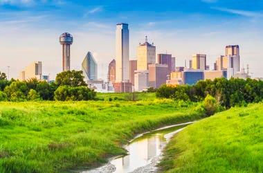 View of Downtown Dallas, located in Dallas, Texas, USA.