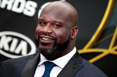 Shaquille O'Neal attends the 2019 NBA Awards at Barker Hangar on June 24, 2019 in Santa Monica, California.