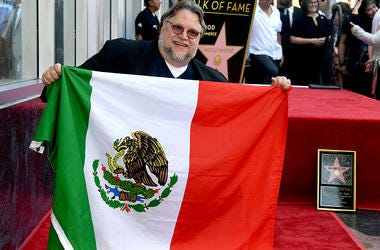 Guillermo del Toro appears at the Hollywood Walk of Fame ceremony honoring Guillermo del Toro on August 06, 2019 in Hollywood, California.
