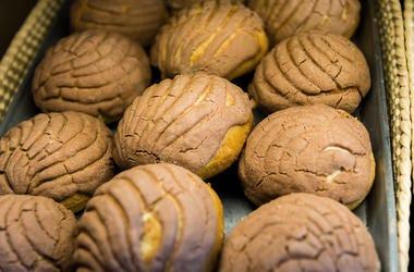 Bread - Pan de dulce Conchas. Muffin, fresh.