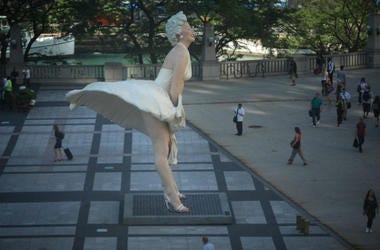 Estatua De Marilyn Monroe