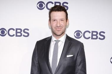 Tony Romo attends the 2017 CBS Upfront at the Plaza Hotel in New York, NY, on May 17, 2017. (Photo by Anthony Behar) *** Please Use Credit from Credit Field ***