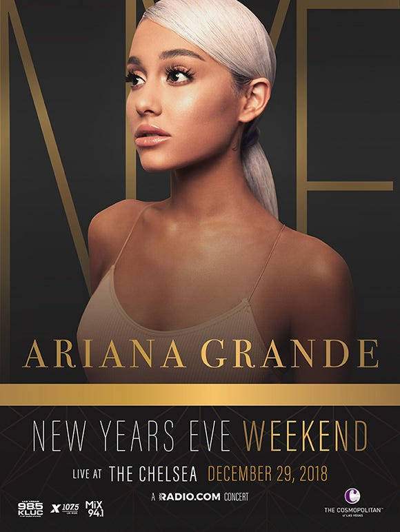 New Years Weekend with Ariana Grande