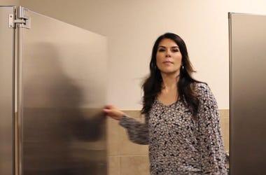 Restroom Door Secret Sound