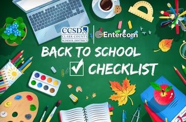 Back 2 School Checklist