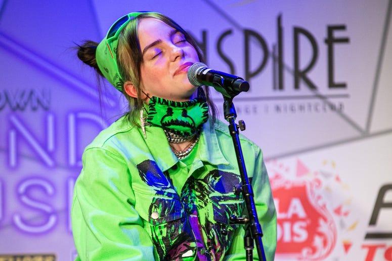 Billie Eilish On Stage Photos Courtesy Of Key Lime Photography22