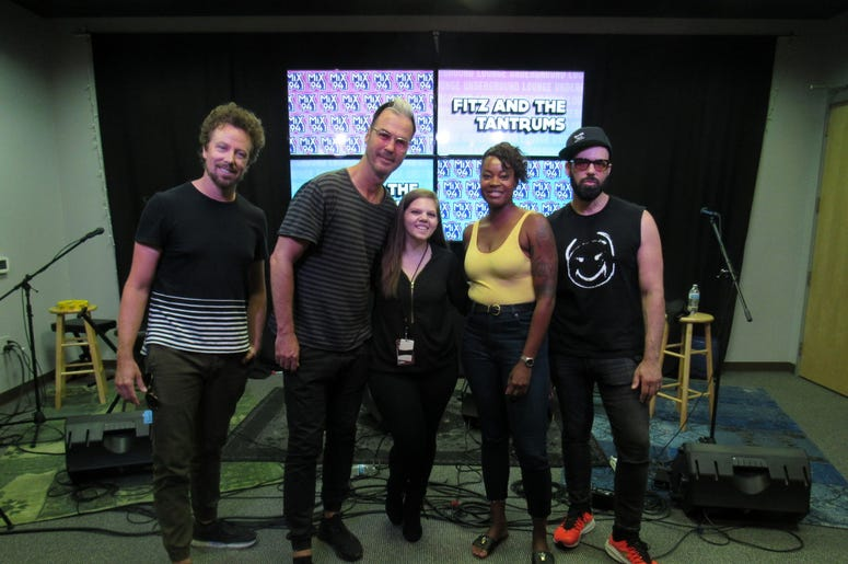 Fitz and The Tantrums Meet and greet 8