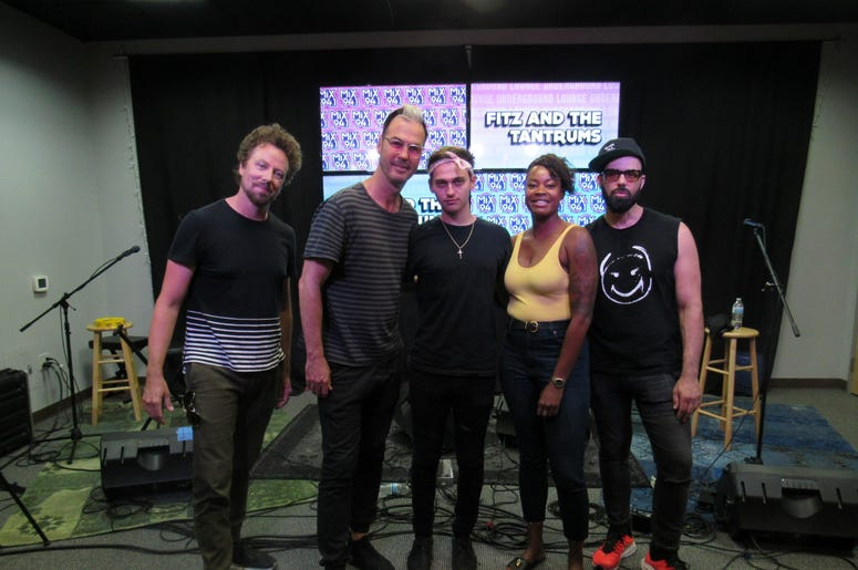 Fitz and The Tantrums Meet and greet 9