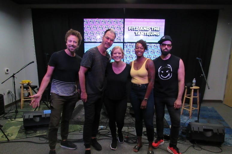 Fitz and The Tantrums Meet and greet 12