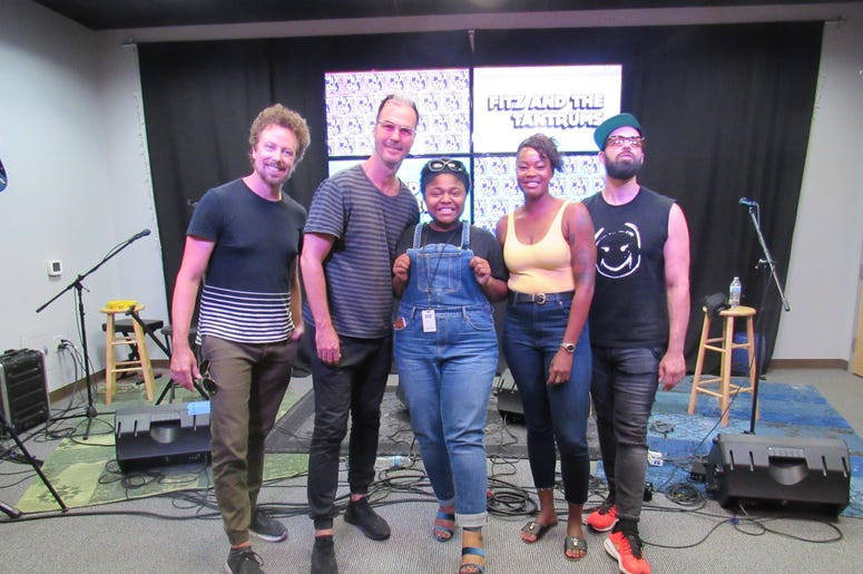 Fitz and The Tantrums Meet and greet 14