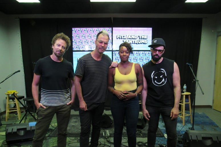 Fitz and The Tantrums Meet and greet 2
