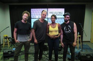 Fitz and The Tantrums Meet and greet 3