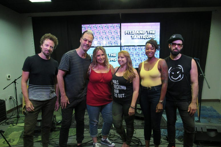 Fitz and The Tantrums Meet and greet 4